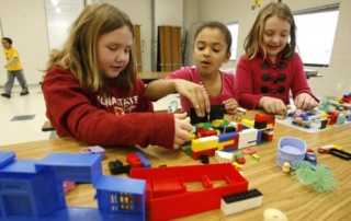 Children at After School Program